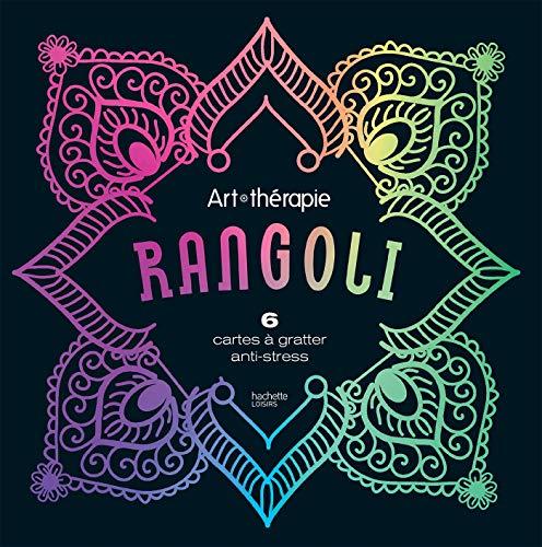 9782017077817: Cartes à gratter Rangoli