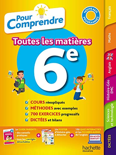 9782017082293: Pour Comprendre Toutes Les Matières 6E