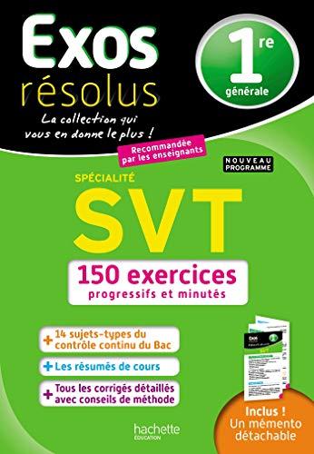 9782017082729: Exos Résolus - SPECIALITE SVT 1ère