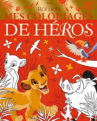 9782017088684: LE ROI LION - Mes Coloriages de Héros - Disney