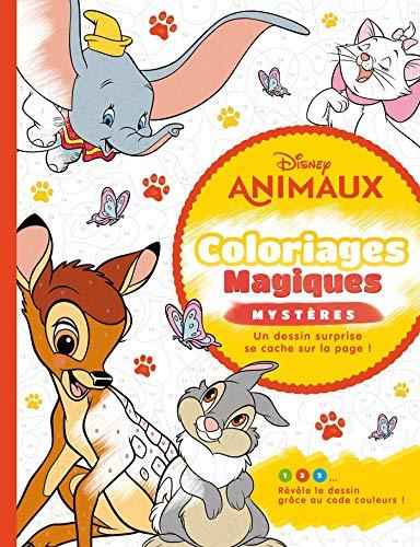 9782017088899: DISNEY ANIMAUX - Coloriages Magiques - Mystères: Mystères - Animaux