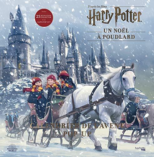 9782017095644: Calendrier de l'avent Pop-up Harry Potter: Un Noël à Poudlard