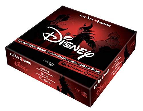 9782017095736: Escape Game Disney: 5 scénarios pour déjouer les plans des plus grands méchants Disney