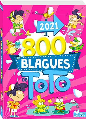 9782017116226: 800 blagues de Toto 2021