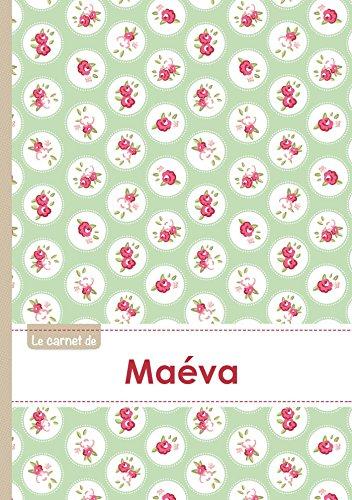 CARNET MAEVA LIGNES,96P,A5 ROSESTEATIME (Adulte): Collectif