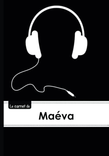 CARNET MAEVA LIGNES,96P,A5 CASQUEAUDIO (Adulte): Collectif