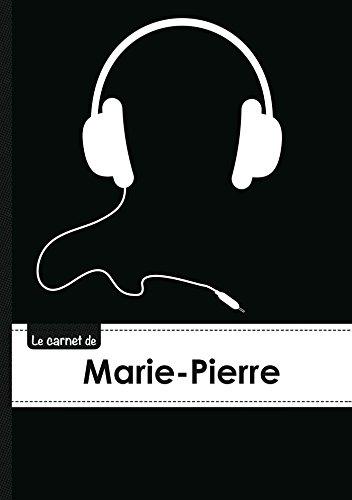 9782017513469: CARNET MARIE PIERRE LIGNES,96P,A5 CASQUEAUDIO