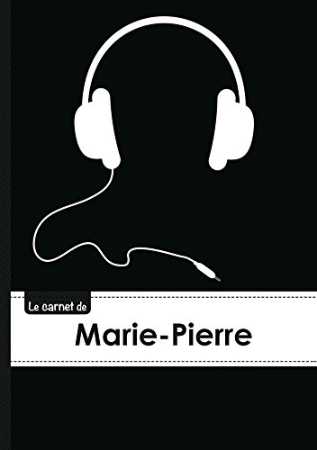 9782017513469: CARNET MARIE PIERRE LIGNES,96P,A5 CASQUEAUDIO (Adulte)