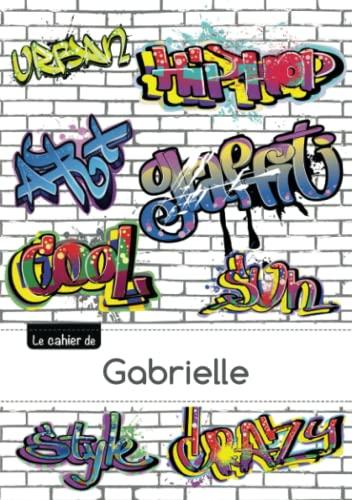 9782017617532: CARNET GABRIELLE SEYES,96P,A5 GRAFFITI (Enfant)