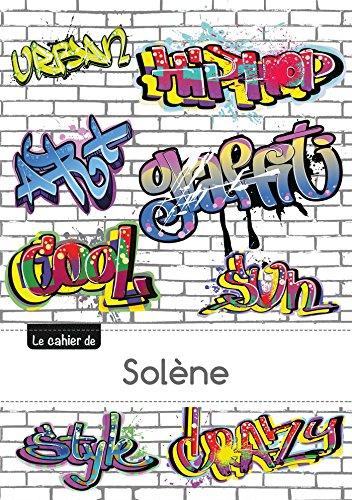 9782017636144: CARNET SOLENE BLANC,96P,A5 GRAFFITI