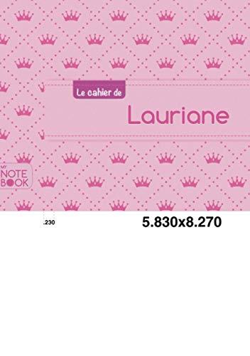 Le cahier de Lauriane - Blanc, 96p,: Collectif