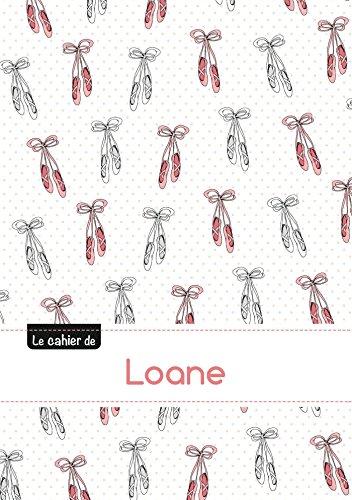 9782017710950: Le cahier de Loane - Blanc, 96p, A5 - Ballerine