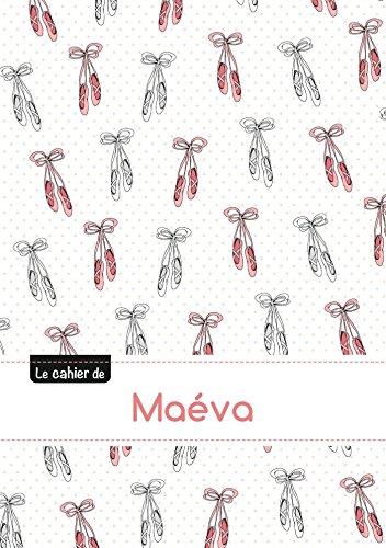 CAHIER MAEVA BLANC,96P,A5 BALLERINE: Collectif