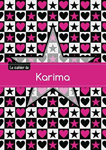 Le cahier de Karima - Blanc, 96p,: Collectif