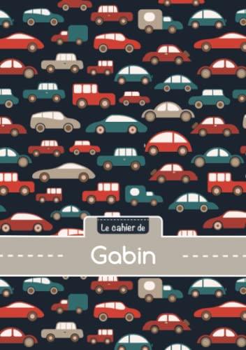 9782017773832: Le cahier de Gabin - Séyès, 96p, A5 - Voitures