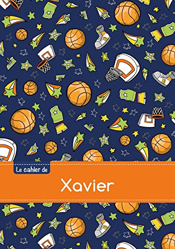 9782017812227: CAHIER XAVIER SEYES,96P,A5 BASKETBALL