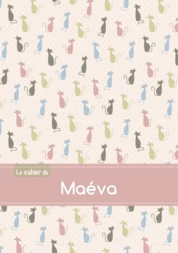 CAHIER MAEVA PTSCX,96P,A5 CHATS: Collectif