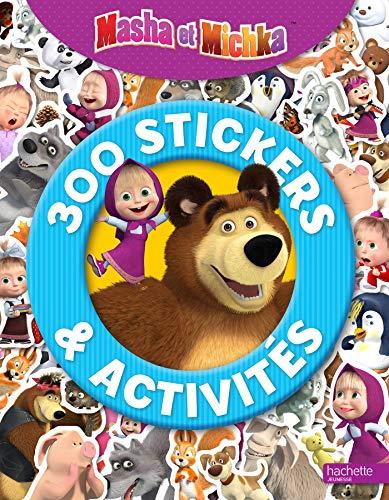 9782017860730: 300 stickers & activités Masha et Michka