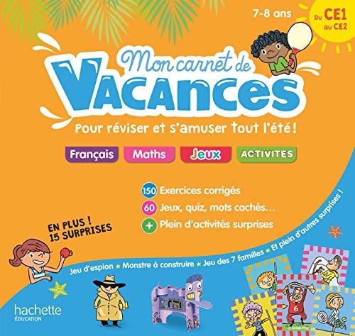 9782017865049: Mon carnet de vacances Du CE1 au CE2 - 7/8 ans