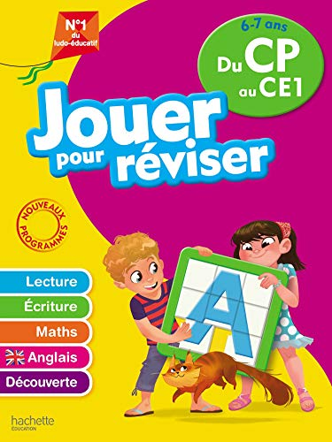 9782017865704: Jouer pour réviser - Du CP au CE1 6-7 ans