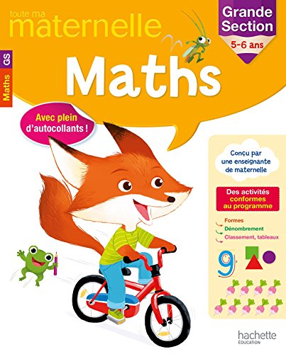 9782019103743: Maths grande section 5-6 ans