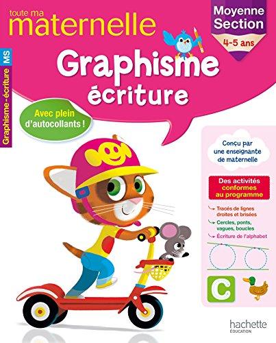 9782019103774: Toute ma maternelle Graphisme Ecriture MS