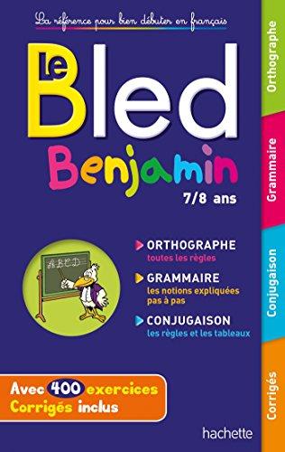 9782019103835: BLED Benjamin 7-8 ans (Bled Primaire)