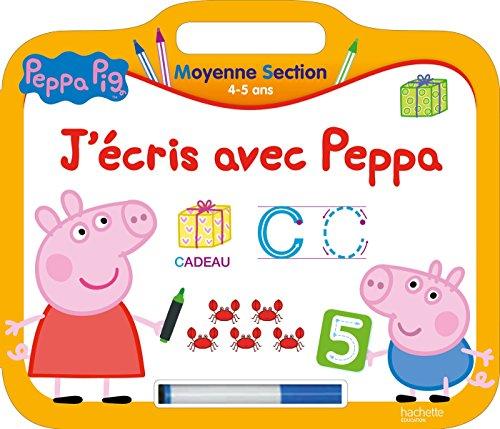 9782019104122: Peppa Pig Mon Ardoise Moyenne Section