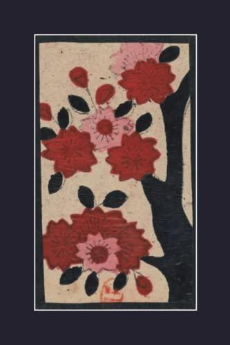 Carnet Ligne Fleurs de Cerisier, Japon 19e: Auteur, Sans