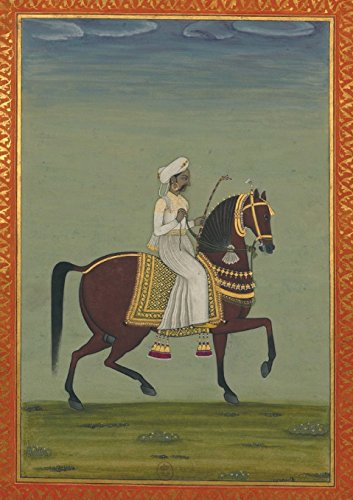 9782019119591: Carnet Ligne Prince Indien a Cheval, Miniature 18e (Bnf Portraits) (French Edition)