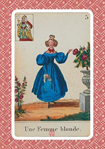 9782019119805: Carnet Cartomancie, Femme blonde, 18e siècle
