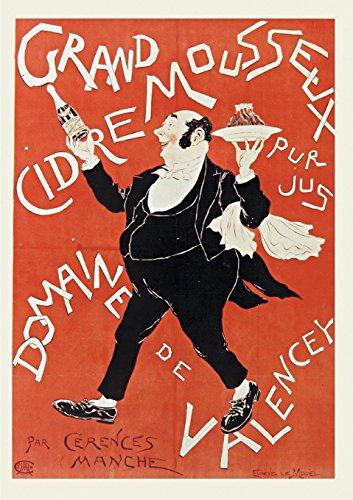 Carnet Ligne Affiche Cidre Valencey (Paperback or: Le Mouel, Eugene