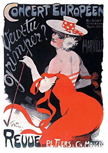 9782019120047: Carnet Ligne Affiche Revue Veux-Tu Grimper ? (Bnf Affiches) (French Edition)