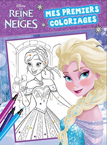 9782019125769 La Reine Des Neiges Mes Premiers Coloriages