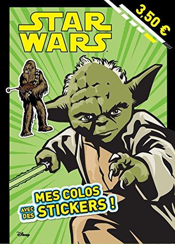 9782019125783: JEDI, MES COLOS AVEC STICKERS