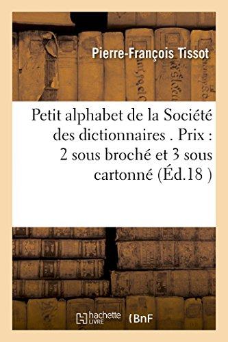 Petit alphabet de la Soci (Paperback): TISSOT-P-F