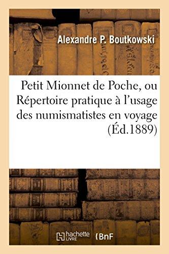 Petit Mionnet de Poche, Ou Repertoire Pratique: Boutkowski-A