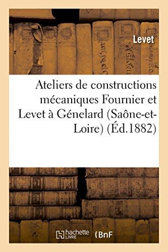 Ateliers de Constructions Mecaniques Fournier Et Levet: LEVET