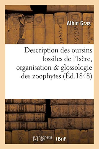 Description Des Oursins Fossiles Du Departement de: Gras-A