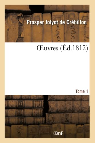 9782019682828: OEuvres- Tome 1