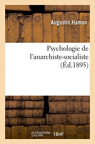 Psychologie de l'Anarchiste-Socialiste: Hamon-A