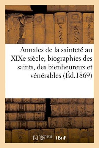 Annales de la saintetà au XIXe siÃ: Wagenbac