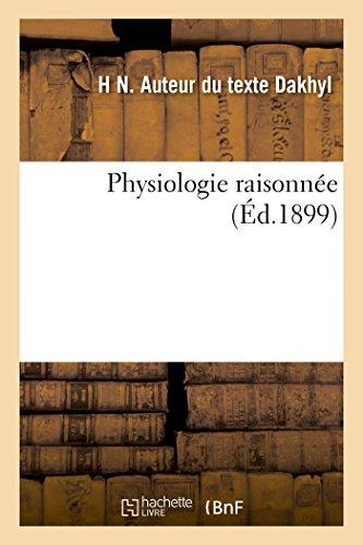 9782020007351: Physiologie raisonnée: 3 (Sciences)