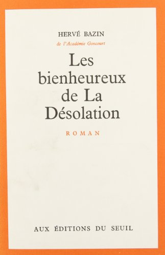9782020011396: Bienheureux de la desolation (les)