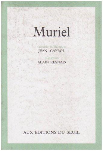 9782020012782: Muriel (Scenario)
