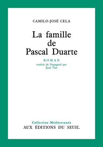 9782020015547: LA FAMILLE DE PASCAL DUARTE