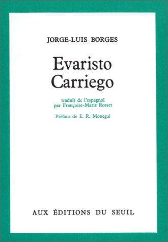 9782020015585: EVARISTO CARRIEGO.