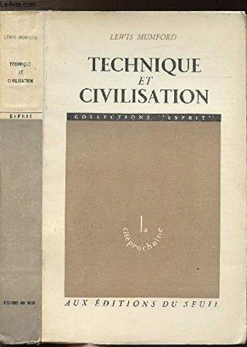 9782020023641: Technique et Civilisation