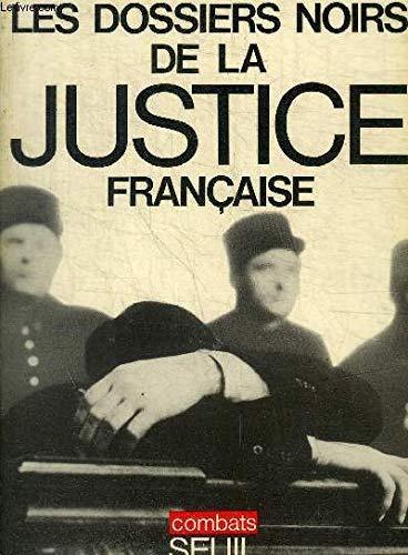 9782020025454: Dossiers noirs de la justice française ( 022796