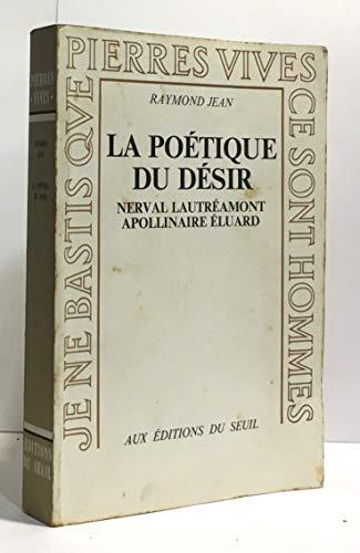 9782020026314: Poetique du desir (la)